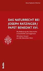 Naturrecht bei Joseph Ratzinger/Benedikt XVI.