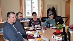 Kaffeenachmittag mit den Caritassammlern