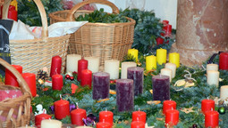 Adventkranzsegnung