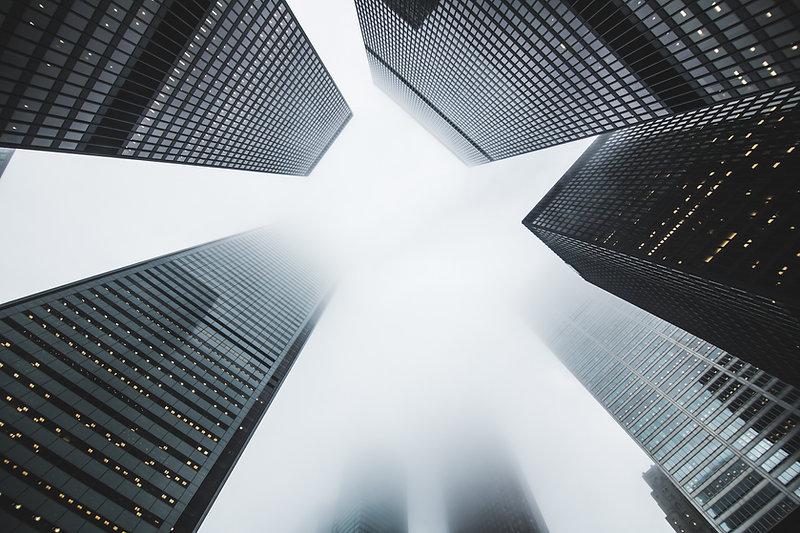 市の超高層ビル
