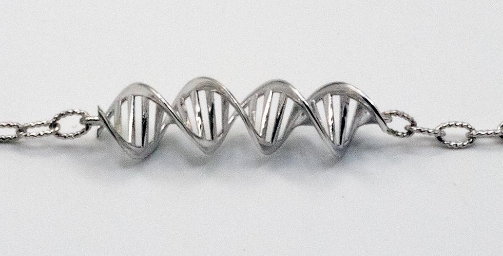 'CODE Ribbon' Horizontal Pendant Necklace