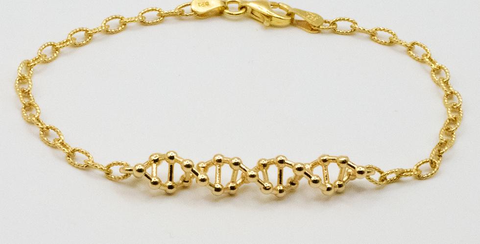 'CODE Loose Atom' Bracelet