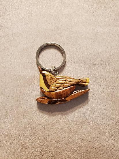 Wren Key Chain