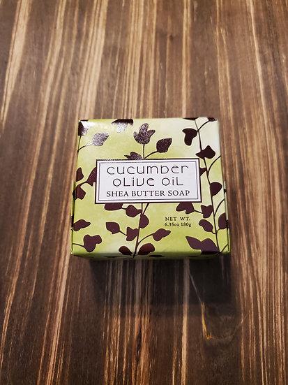 Cucumber Olive Oil Shea Butter Soap