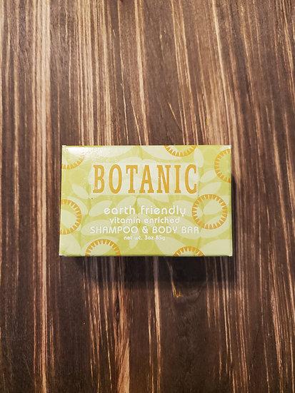 Earth Friendly Shampoo & Body Bar