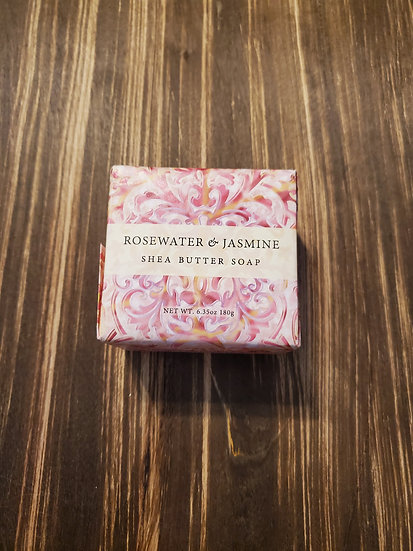 Rosewater & Jasmine Shea Butter Soap