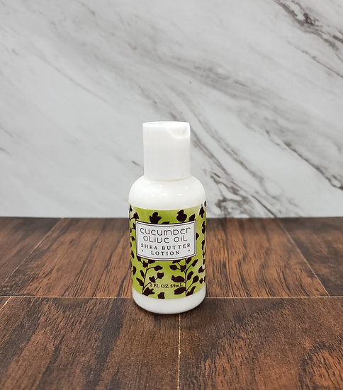 Cucumber Olive Oil Shea Butter Lotion