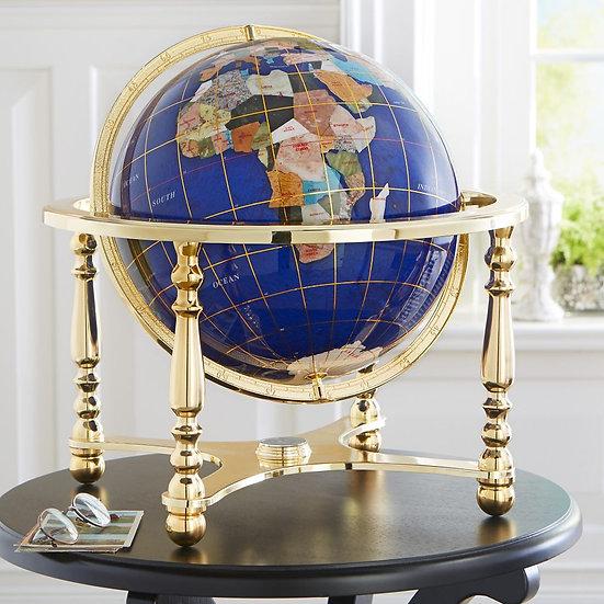 Semi Precious Gemstone Globe