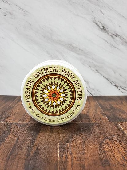 Organic Oatmeal Body Butter