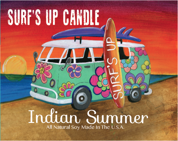 Paint Can Candle- Indian Summer