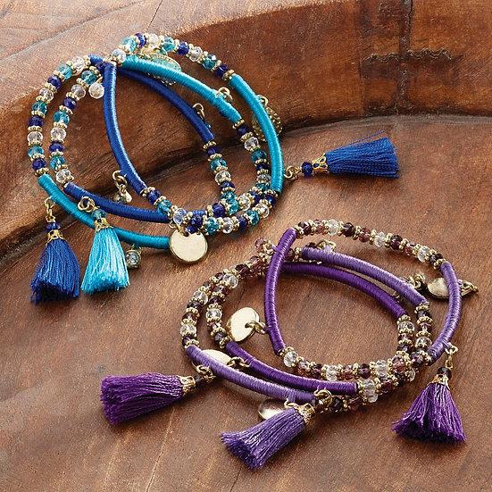 Indian Tassle Bracelet