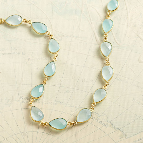 Indian Chalcedony Necklace