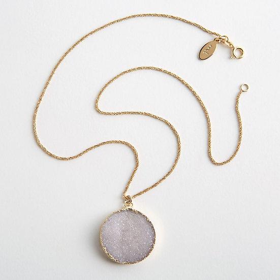 Agate Druzy Necklace