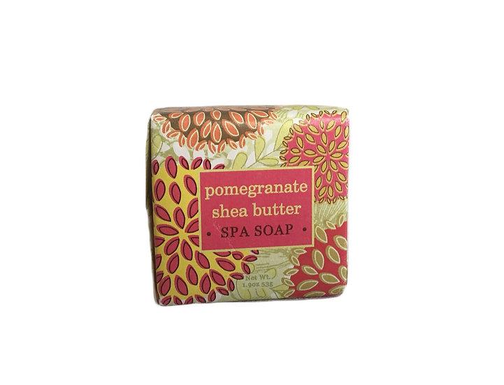 Pomegranate Shea Butter Soap, 1.9oz