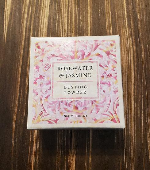 Rosewater & Jasmine Dusting Powder