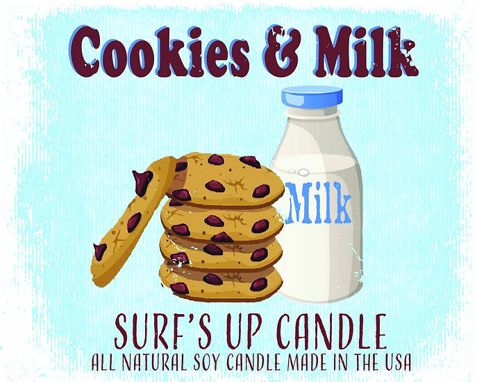 Paint Can Candle- Milk and Cookies