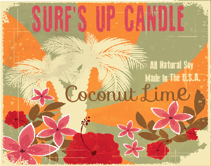 Paint Can Candle- Coconut Lime