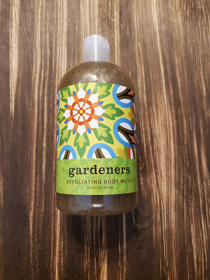 Gardener's Exfoliating Body Wash