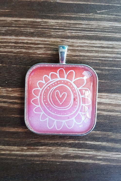 Heart in Flower