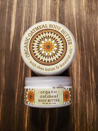 Organic Oatmeal Body Butter