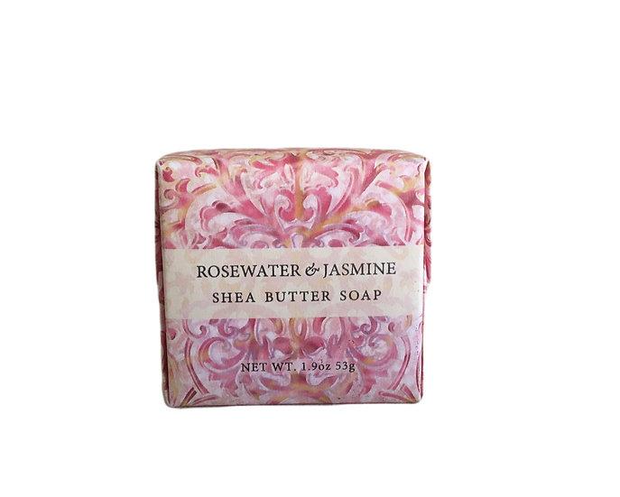 Rosewater & Jasmine Soap, 1.9oz