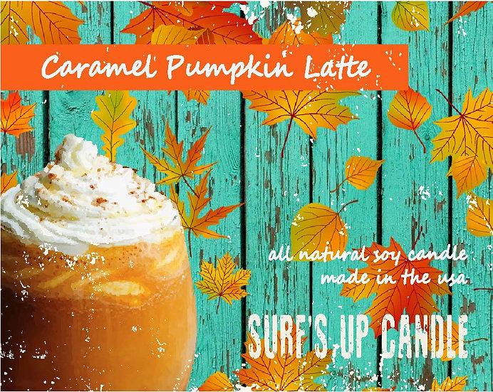 Paint Can Candle- Caramel Pumpkin Latte