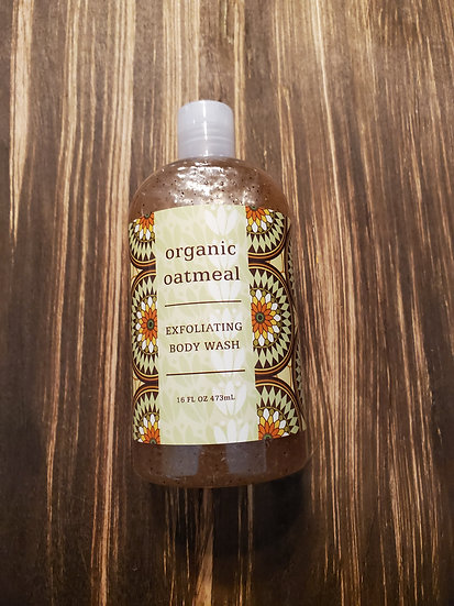 Organic Oatmeal Exfoliating Body Wash