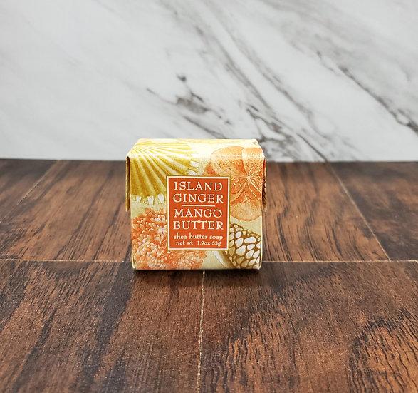 Island Ginger Mango Shea Butter Soap, 1.9oz