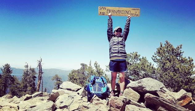 At the top of San Bernardino, Tongva, Kizh, Yuhaaviatam/Maarenga'yam land