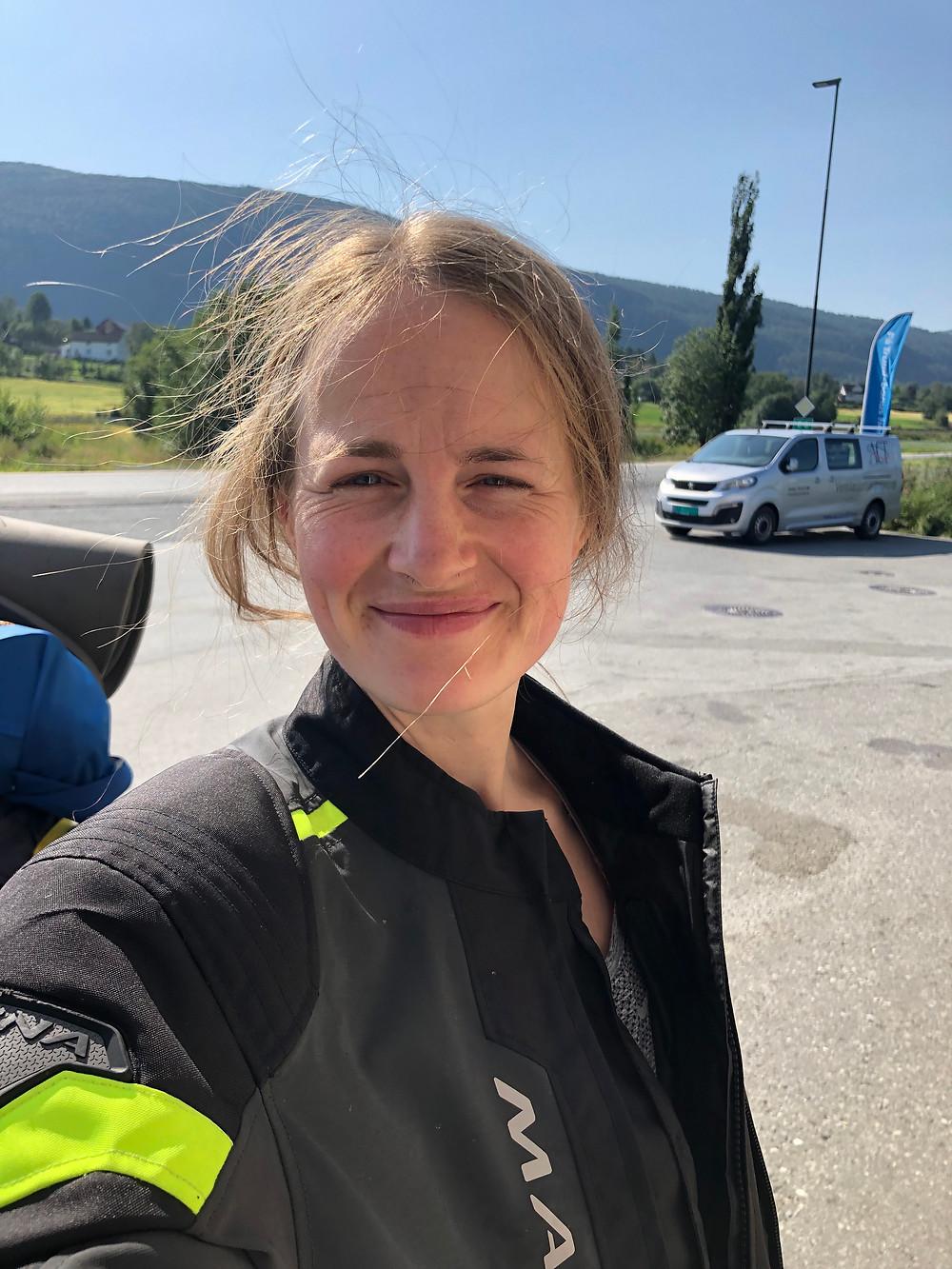 Pia   Ride the Bean   Macna   Motocamping   Åsen