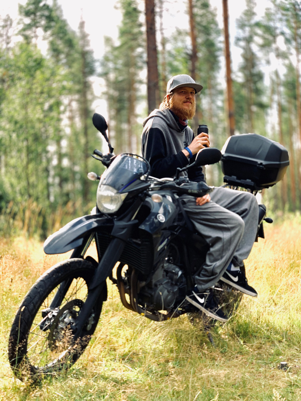 Ride the Bean | Kenneth | Yamaha XT660 | Sweden |