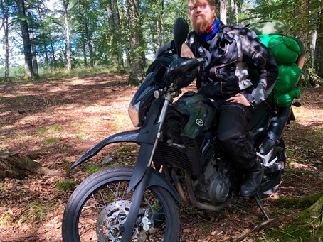 What motorcycle camping in Scandinavia taught us