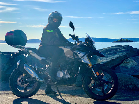 Goodbye to my first motorcycle! Hedda, a BMW G 310 GS