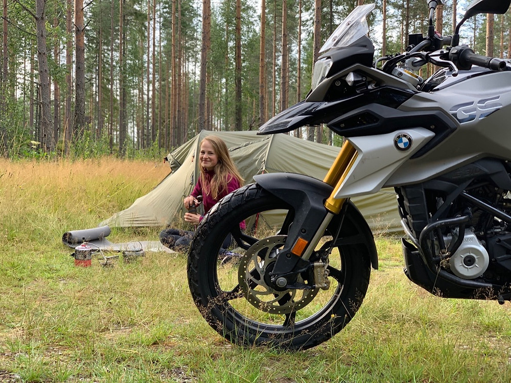 Motocamping | Ride the Bean | BMW G310 GS |