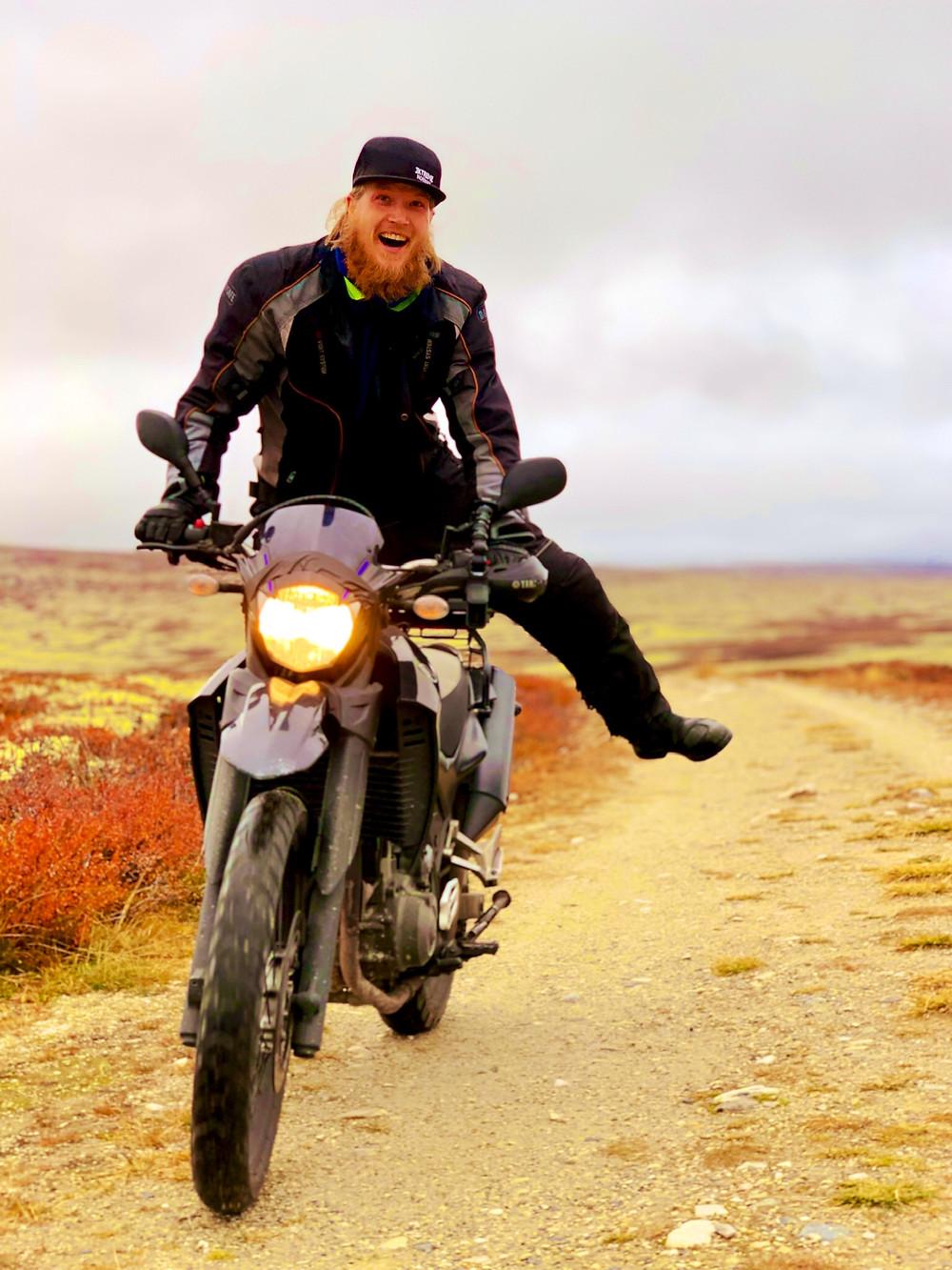 Kenneth | Ride the Bean | Yamaha XT660 | Rondane, Norway |