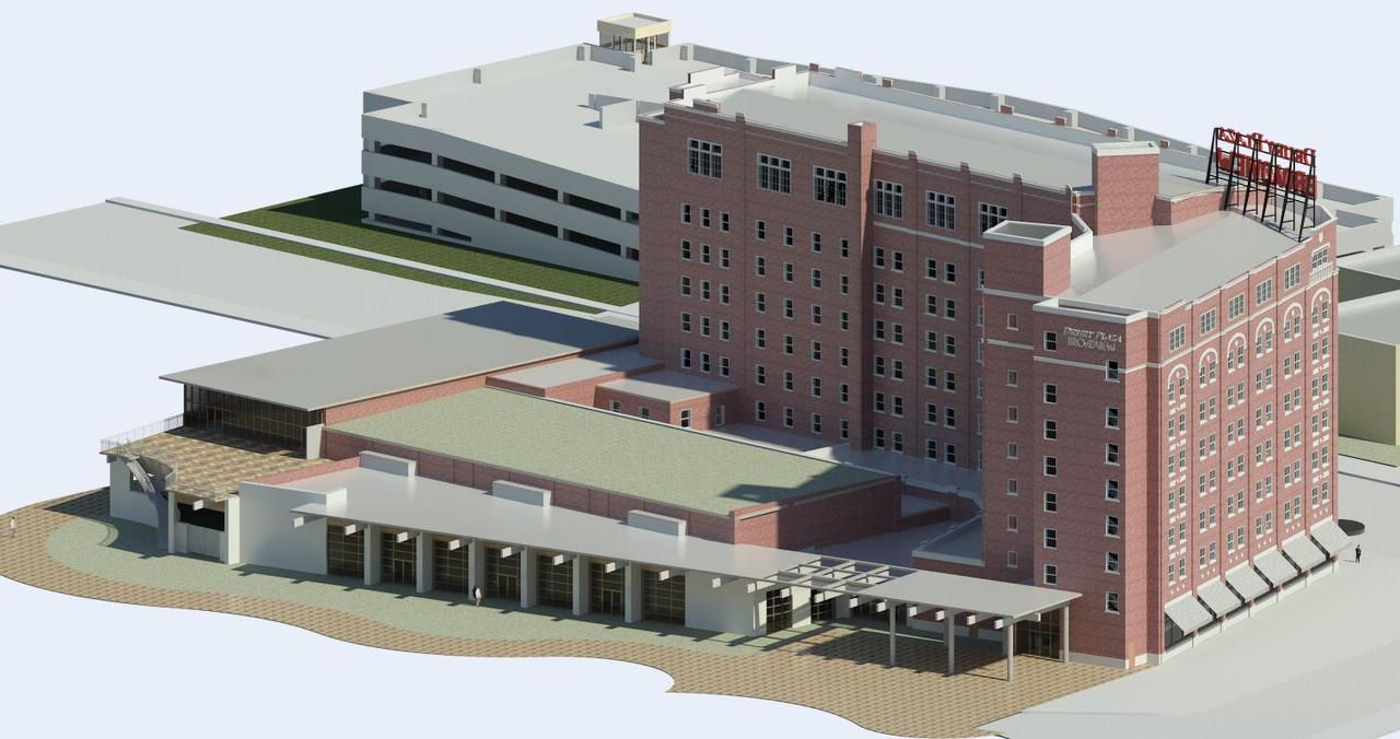 Bim Model Of Wichita Broadview