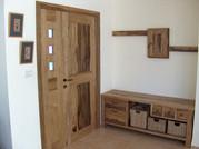 דלת דו כנפית- עץ לימבה