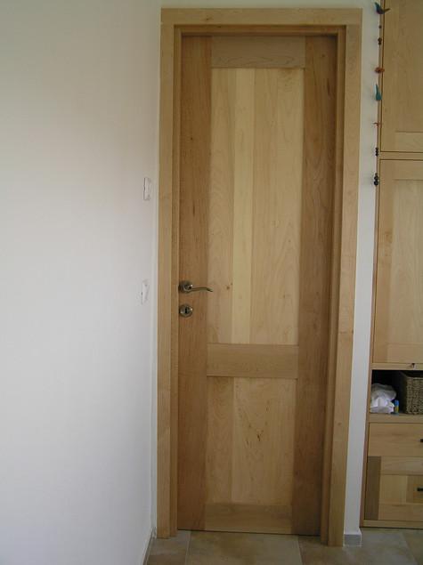 דלת פנימית- עץ סופט מייפל