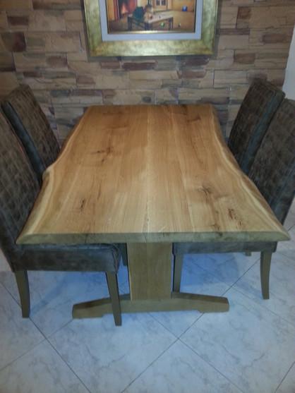 שולחן ל 6 אנשים ללא הארכה