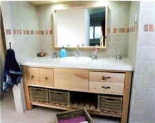 ארון אמבט- מגירות וסלסלות