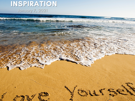 Daily Inspiration - January 7: Showing Love to Yourself