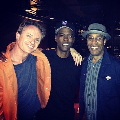 Post-show 'Turn Me Loose' (with Chris Rock and Joe Morton, Westside Theatre NYC)