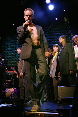 Reverend Billy & The Stop Shopping Choir, Joe's Pub NYC