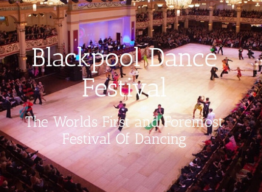 Lycka till alla dansare som tävlar i Blackpool Dance Festival! 2019!