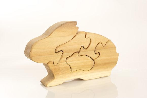 Momma Rabbit Puzzle