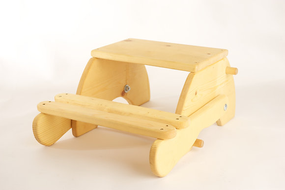 Step Stool, converts to seat