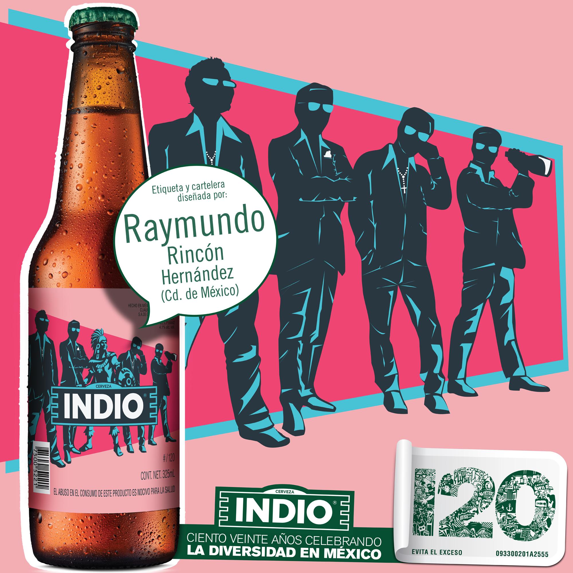 Botella INDIO Mirrey