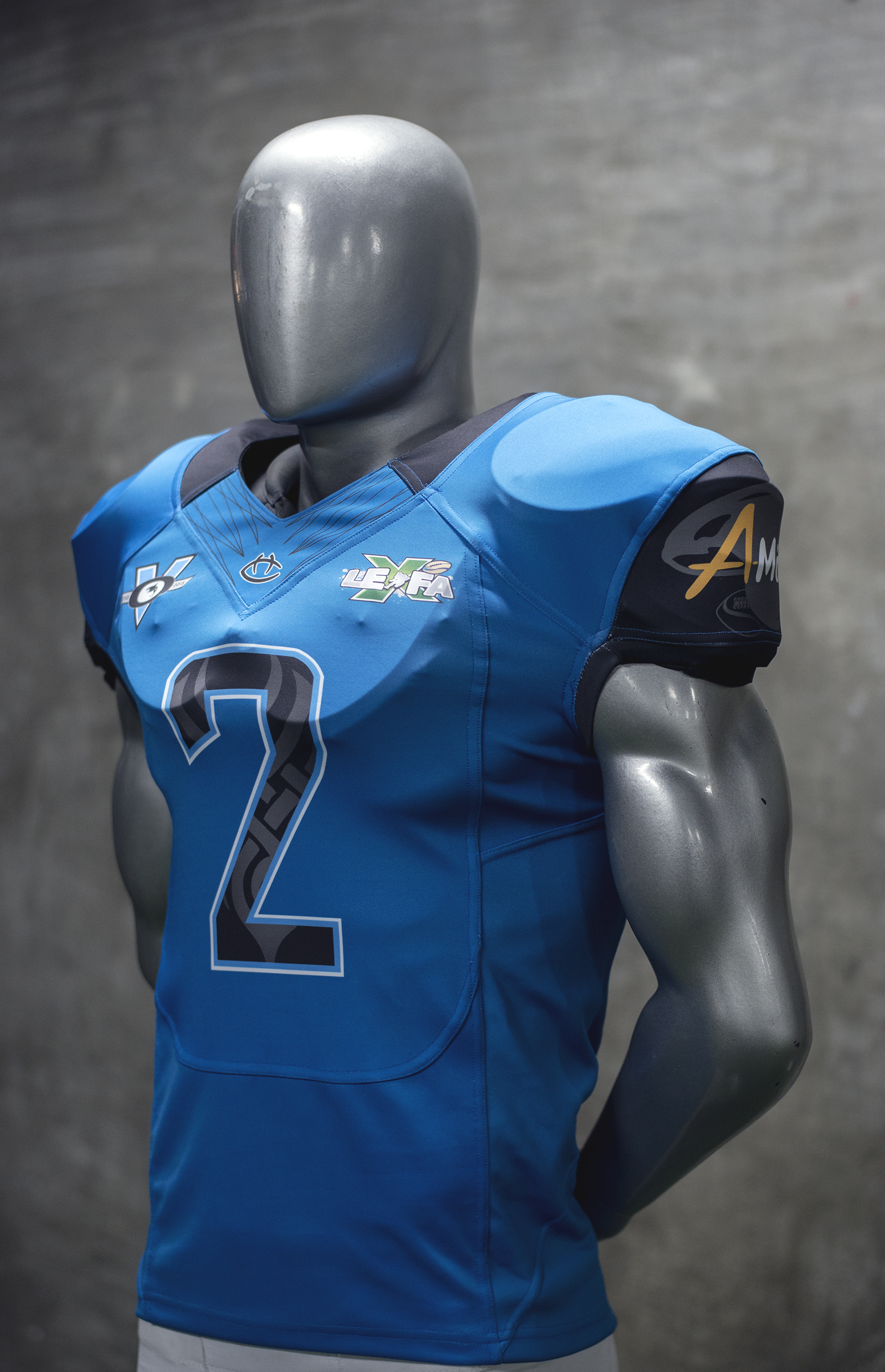 Jersey football dry fit
