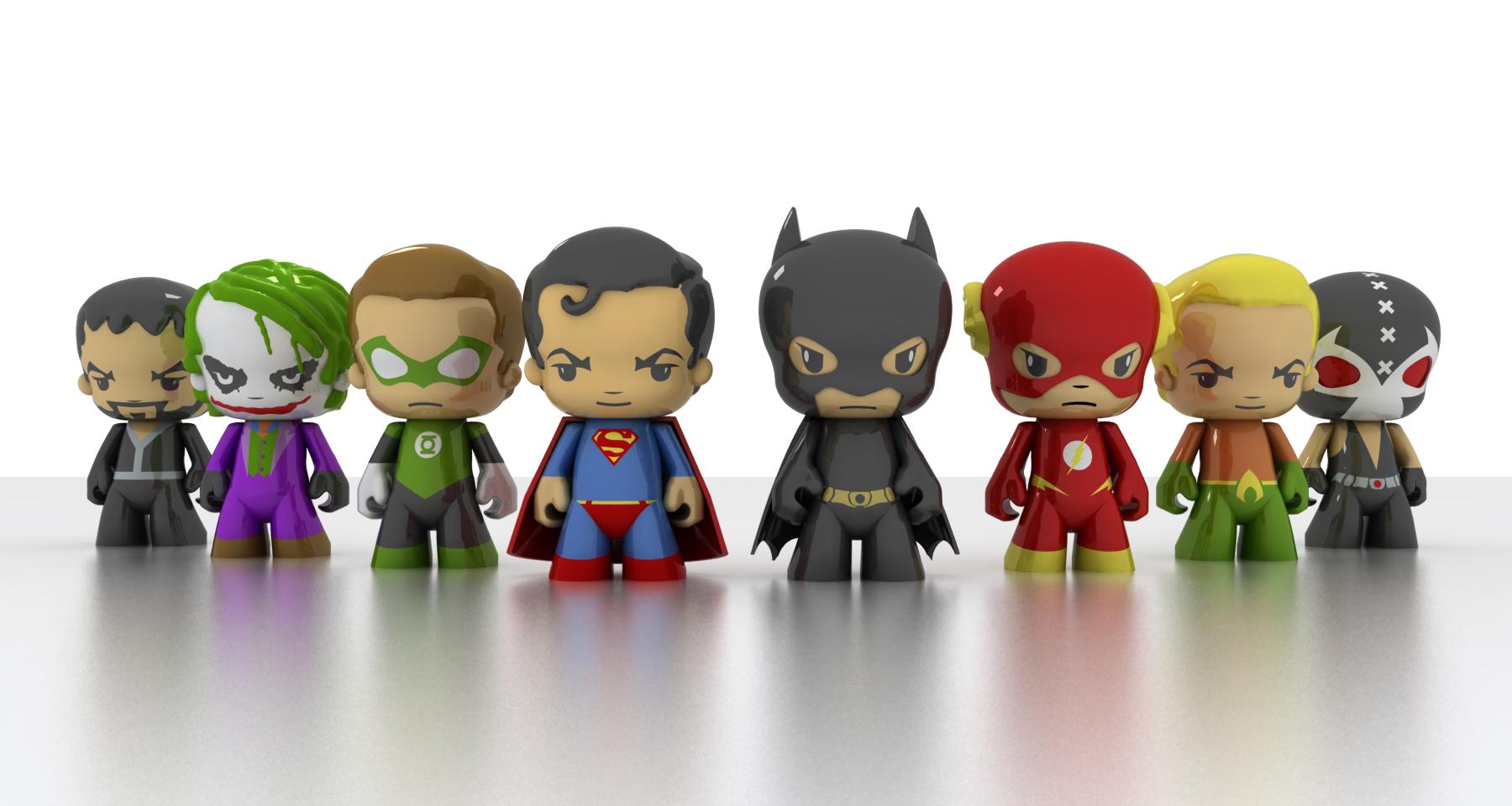 Art Toy DC Comics