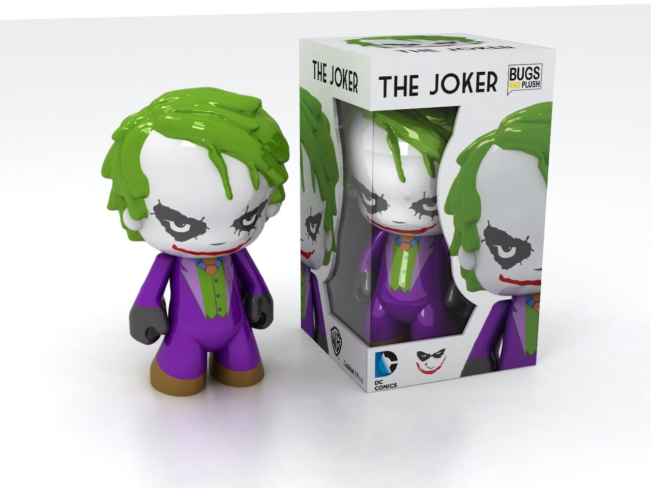 Joker Art Toy